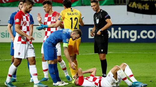 Croatia bỏ lỡ nhiều thời cơ tấn công, dù có nhiều ngôi sao. Ảnh: Reuters