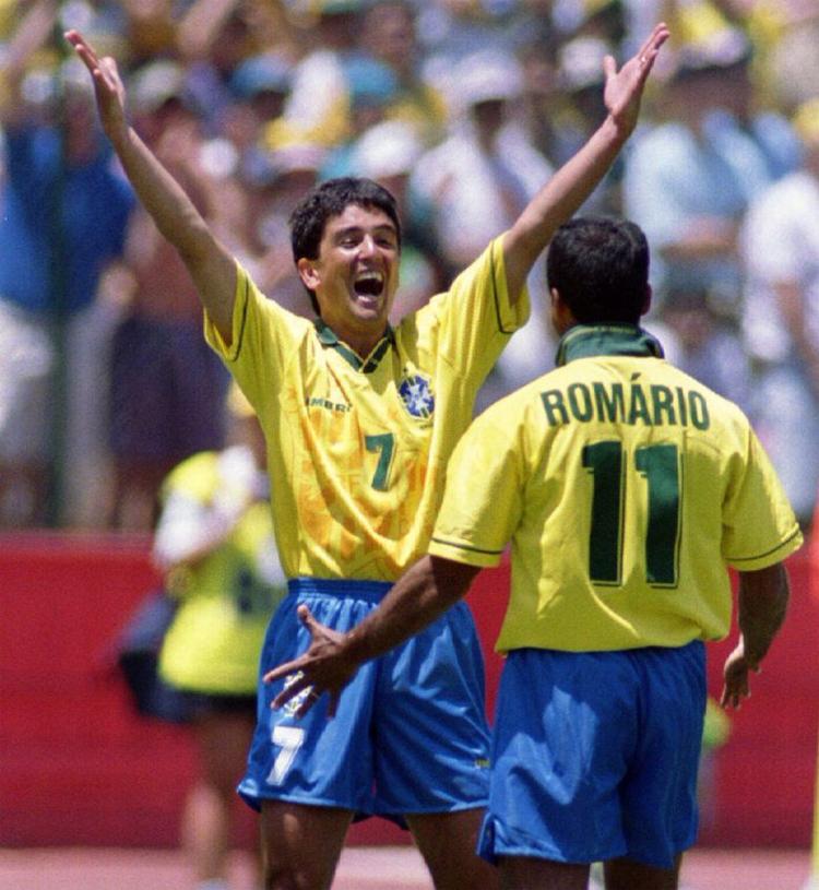 Sự ăn ý của Romario và Bebeto là nguồncảm hứng quan trọng đưa Brazil đến chức vô địch World Cup 1994.