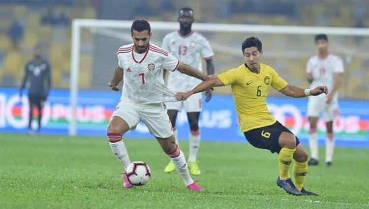 Ali Mabkhout là một cầu thủ toàn diện của UAE.