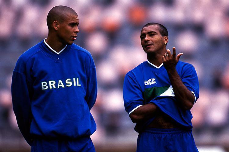 Người Brazil đến giờ vẫn tiếc nuối vì Romario không kịp bình phục chấn thương để cùng Ronaldo dự World Cup 1998, nơi tuyển Brazil vào chung kết và thua chủ nhà Pháp 0-3. Ảnh: AFP.