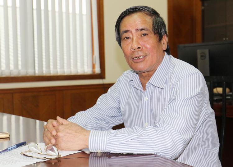 Trưởng Ban kỷ luật VFF Vũ Như Thành khẳng định các bên liên quan sẽ phải chịu án phạt nặng nhất cho vụ pháo sáng trên sân Hàng Đẫy. Ảnh: Lâm Thoả