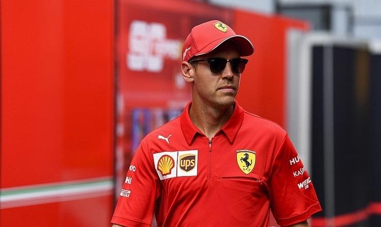 Vettel đang chịu sức ép lớn từ việc mất phong độ và sự trỗi dậy của Leclerc. Ảnh: Motosport.