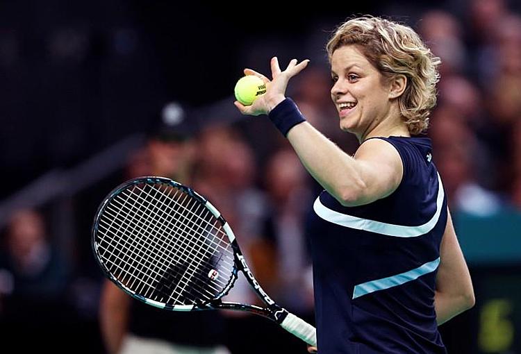 Clijsters gây bất ngờ khi tuyên bố trở lại thi đấu. Ảnh: Reuters.