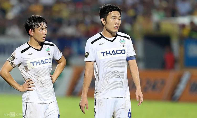 HAGL hai lần thua Sài Gòn trong mùa 2019. Ảnh: Đức Đồng.