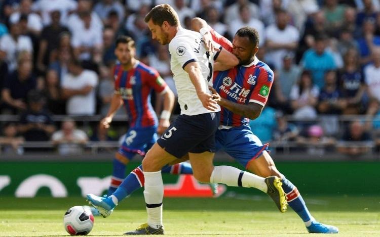 Palace bất lực khi Tottenham có một trận đấu xuất sắc. Ảnh: Reuters.