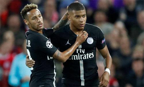 PSG mất hai tiền đạo hay nhất. Ảnh: Reuters