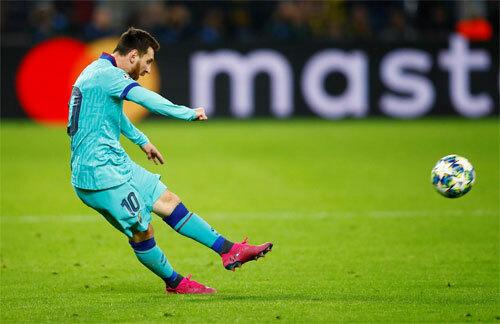 Messi thi đấu lần đầu tiên từ Copa America.