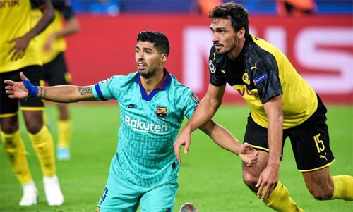Suarez không còn ghi nhiều bàn như xưa. Ảnh: Reuters