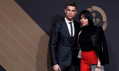 Ronaldo và bạn gái xứng đôi vừa lứa. Ảnh: Reuters