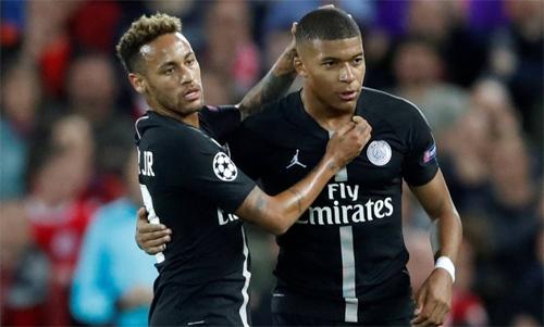 PSG thắng Real mà không cần Neymar và Mbappe. Ảnh: Reuters