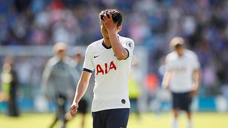 Son Heung-min nhạt nhòa trong thất bại của Tottenham. Ảnh: EPL.