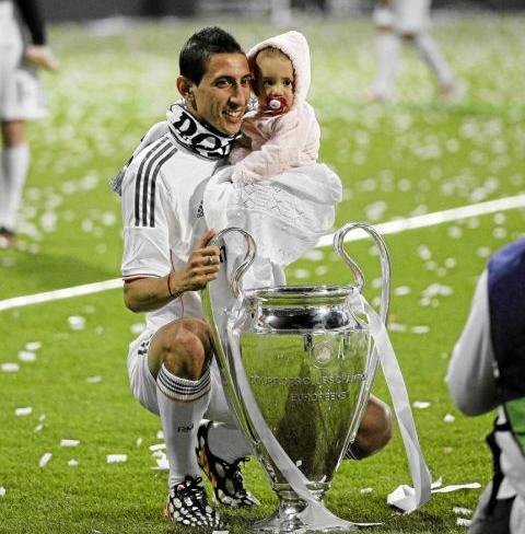 Vô địch Champions League 2014 cùng Real là thành tựu lớn nhất của Di Maria. Ảnh: Marca.
