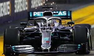 Tài nghệ của Lewis Hamilton ở Singapore