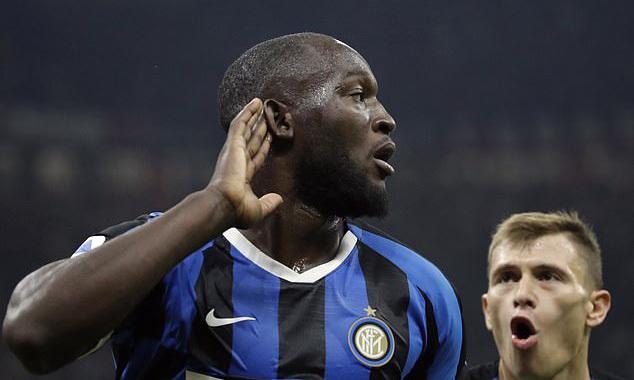 Lukaku ấn định chiến thắng cho Inter. Ảnh: AP.