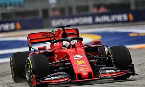 Vettel về nhất tại Marina Bay
