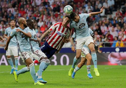 Atletico mất thói quen chiến thắng sau ba trận đầu thuận lợi.