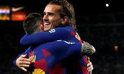 Barca chiến thắng khi Messi đá chính