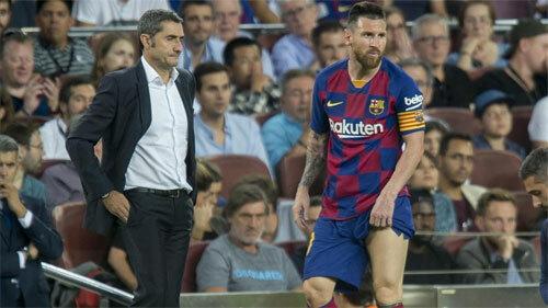 Messi một lần nữa chấn thương.