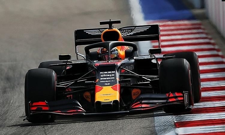 Verstappen cho thấy Red Bull lột xác ở GP Nga. Ảnh: XPB.