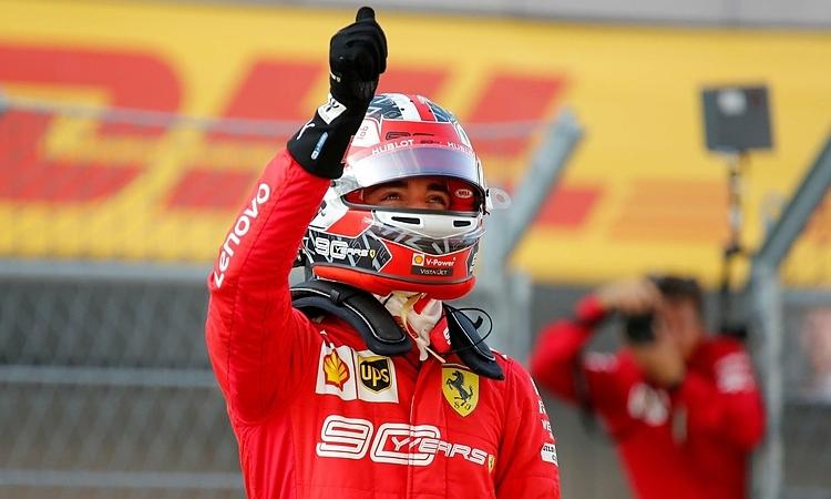 Leclerc và Ferrari tiếp đà hồi sinh ở giai đoạn hai mùa F1 2019. Ảnh: Reuters.