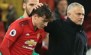 Lindelof phớt lờ chỉ trích của Mourinho