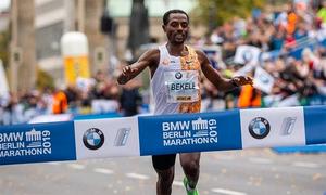 Chân chạy Ethiopia suýt phá kỷ lục tại Berlin Marathon