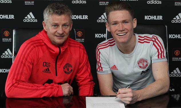 Tominay được Solskajer trao cơ hội đá chính tại Man Utd mùa này và vừa được ký hợp đồng chuyên nghiệp đến 2023. Ảnh: Sky Sports.