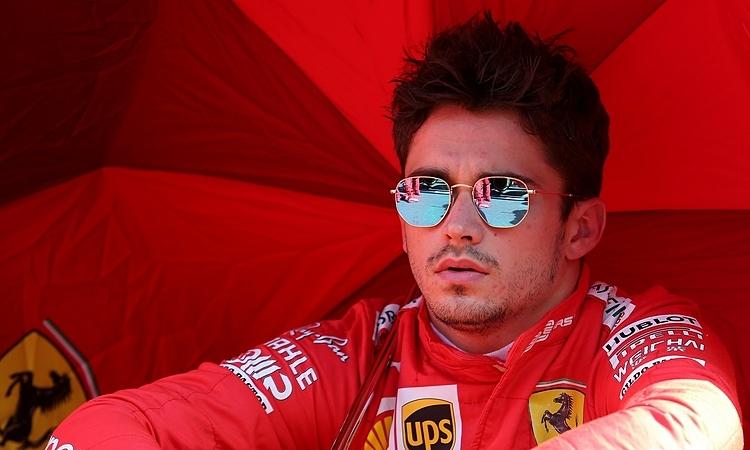 Leclerc giành pole lần thứ tư liên tiếp, nhưng không thể thắng hai chặng gần đây. Ảnh: XPB.