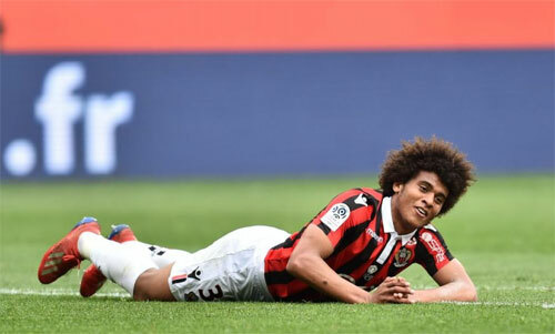 Diaby-Fadiga không còn là cầu thủ Nice. Ảnh: Reuters