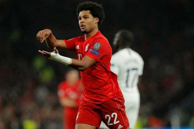 Gnabry đang là ngôi sao người Đức chói sáng nhất ở Champions League mùa này. Ảnh: Reuters.
