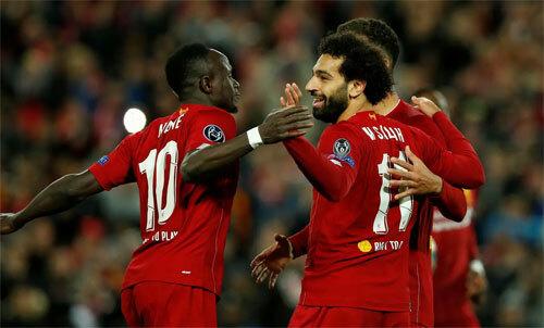 Liverpool đang thắng như vũ bão trên sân nhà. Ảnh: Reuters