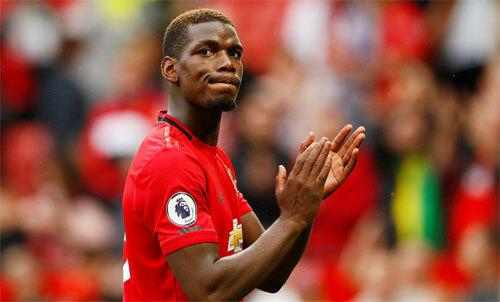 Pogba chấn thương trở lại chỉ sau vài trận. Ảnh: Reuters