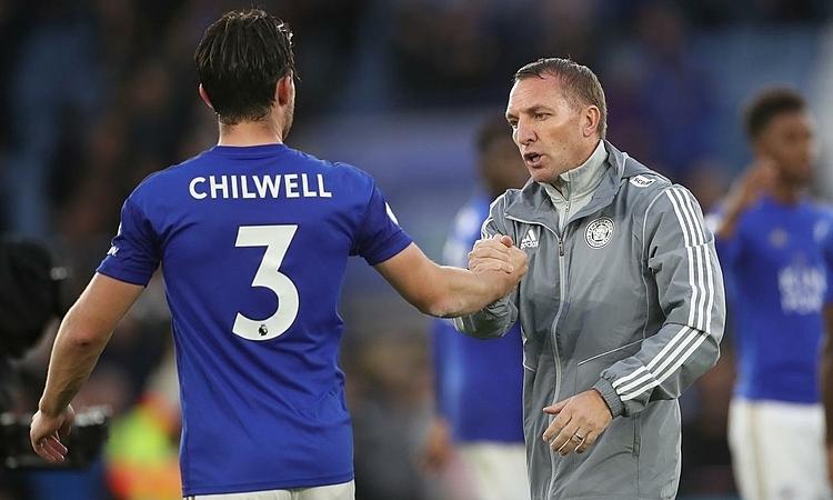 Klopp đánh giá cao tầm ảnh hưởng của Rodgers (phải) tại Leicester. Ảnh: Reuters.