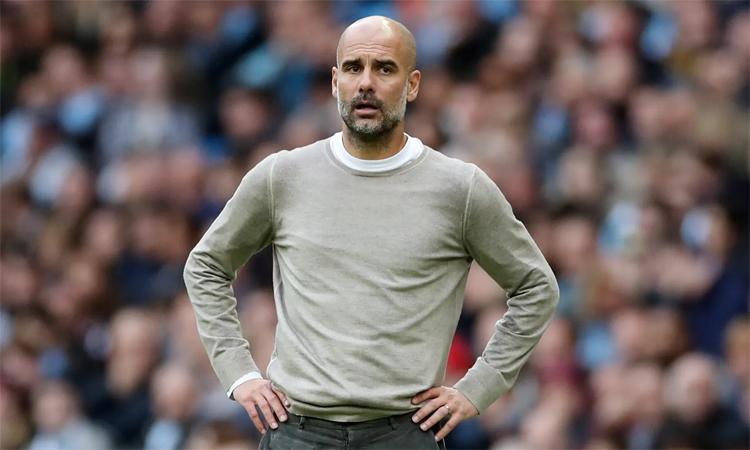 Guardiola tin rằng cơ hội vẫn còn với Man City do Ngoại hạng Anh còn tới 30 trận phía trước. Ảnh: Reuters.