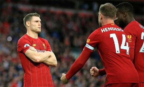 Liverpool sớm bứt lên trong giai đoạn đầu mùa giải. Ảnh: PA