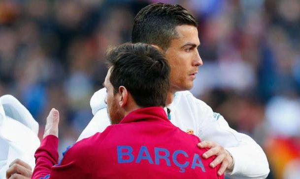 Ronaldo và Messi có thể không được đến Anh dự các trận đấu thuộc Champions League trong mùa 2019-2020. Ảnh: Reuters.