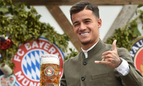 Coutinho hiện chơi cho Bayern. Ảnh: AFP