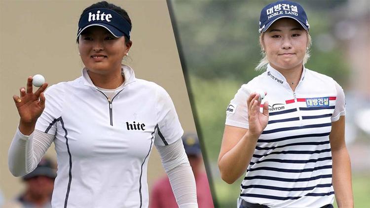 Ko (trái) và Lee6 nhiều khả năng sẽ chia nhau hai giải thưởng Golfer hay nhất và Tân binh hay nhất LPGA Tour mùa này. Ảnh: LPGA.