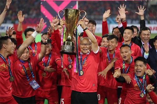 HLV Park Hang-seo được kỳ vọng sẽ giúp Việt Nam lần thứ hai lên đỉnh Đông Nam Á, sau thành công ở AFF Cup 2018. Ảnh: Lâm Thỏa.