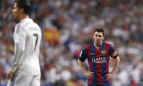 Thời đỉnh cao, Ronaldo và Messi đều ghi trung bình 50 bàn/mùa. Ảnh: Reuters