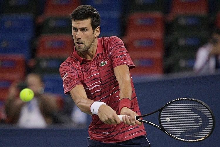 Djokovic đã thắng sáu trận liên tiếp từ khi trở lại sau chấn thương ở Mỹ Mở rộng. Ảnh: AFP.