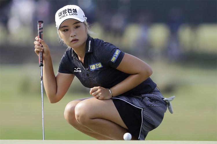 Lee6 gây ấn tượng mạnh trong năm đầu tiên lên chơi ở LPGA Tour. Ảnh: AP.