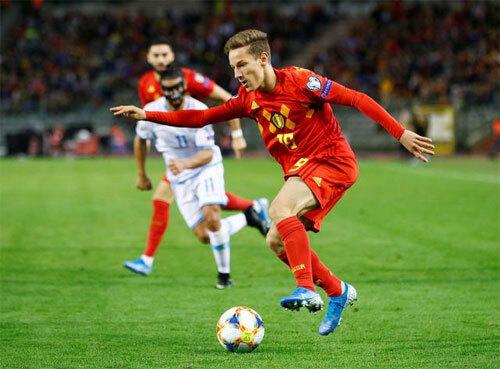 Bỉ quá mạnh so với những đối thủ ở bảng I.