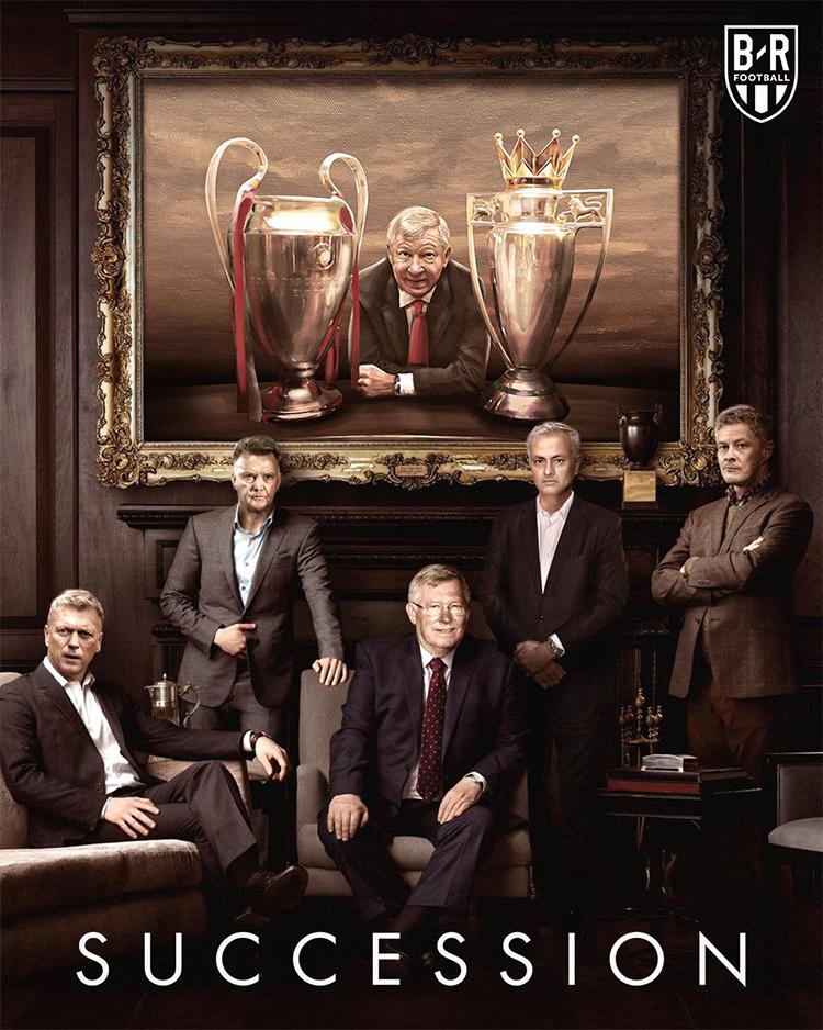 Thành công vang dội trong kỷ nguyên Ferguson khiến các đời HLV kế tiếp của Man Utd gặp khó khăn vì áp lực so sánh. Ảnh: BR.