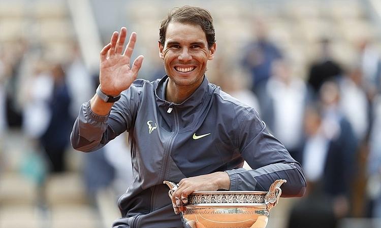 Nadal sẽ trở lại đỉnh bảng ATP sau tròn một năm. Ảnh: Reuters.