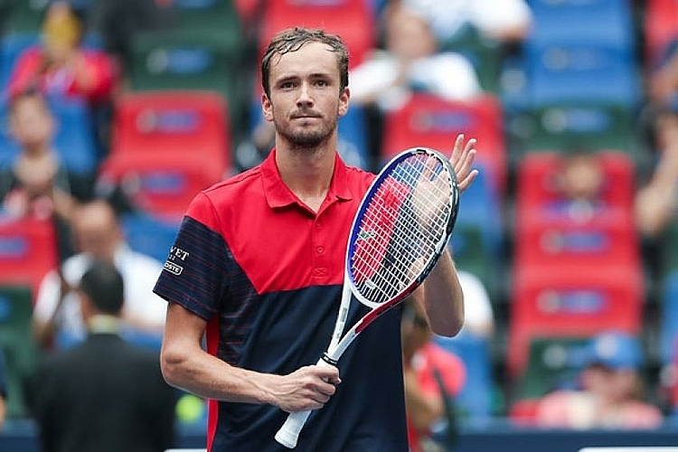 Medvedev đã thắng 16 set liên tiếp tại ATP Tour. Ảnh: Tennis World.