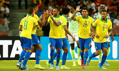 Brazil chưa lấy lại thói quen chiến thắng.