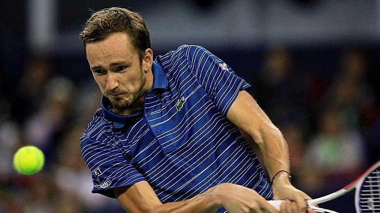 Medvedev đã chắc suất dự ATP Finals. Ảnh: Reuters.