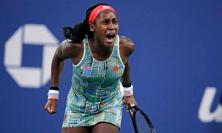 Gauff vượt áp lực ở set quyết định trận chung kết để tiến đến chức vô địch đầu tay ở WTA. Ảnh: AP.
