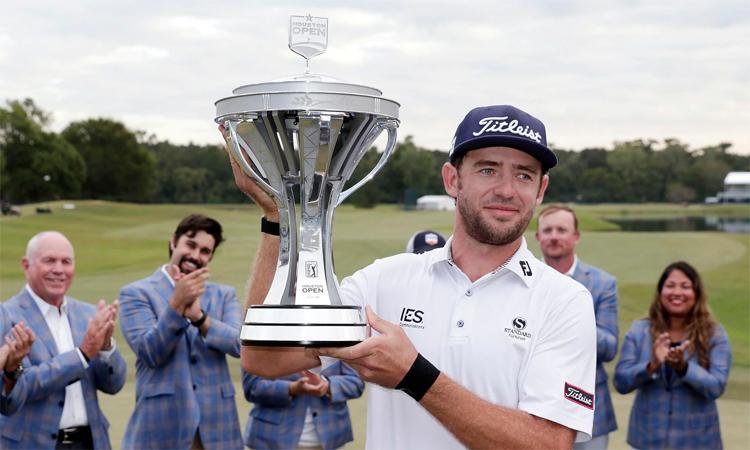 Griffin lần đầu tiên được nếm mùi vinh quang ở PGA Tour. Ảnh: AP.